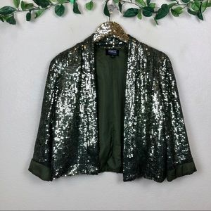 Adrianna Papell Evening Essentials • Sequin Blazer
